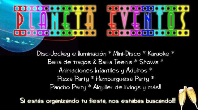 Karaoke, minidisco y animacion pre teen´s www.planeta-eventos.com.ar