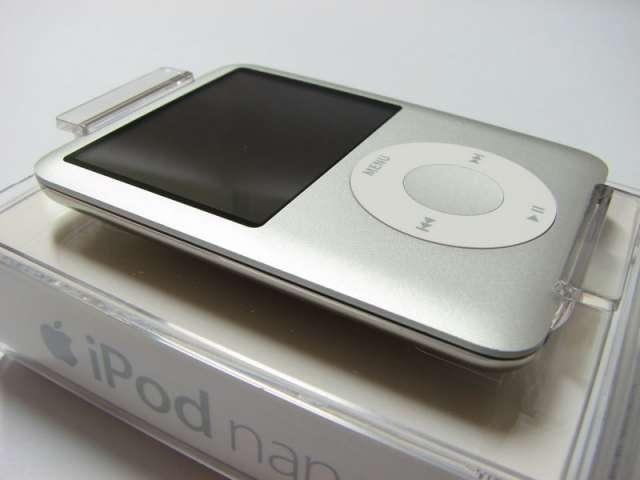 Ipod nano 4gb plateado como nuevo, muy poco uso.
