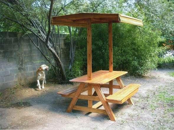 Vendo muebles de jardin a pedido en madera maciza de eucaliptus en ...