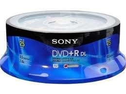 Dvd dual layer virgen stock permanente, precio y calidad