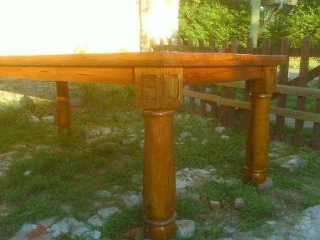 Mesas de pinotea,rusticas y cepilladas