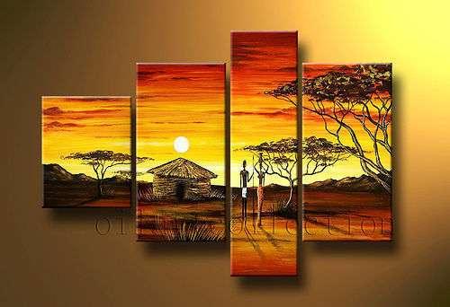 Cuadro pintura decorativa elaborada en oleo sobre soporte de lienzo