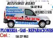 DESTAPACIONES EN QUILMES 156-3329953 ZONA SUR