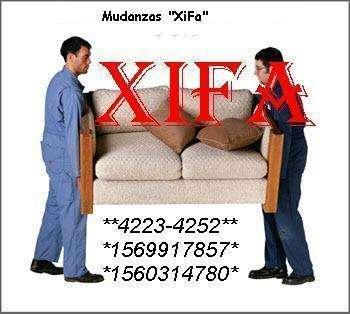 Mudanzas xifa fletes peones traslados de cajas fuertes 4223-4252