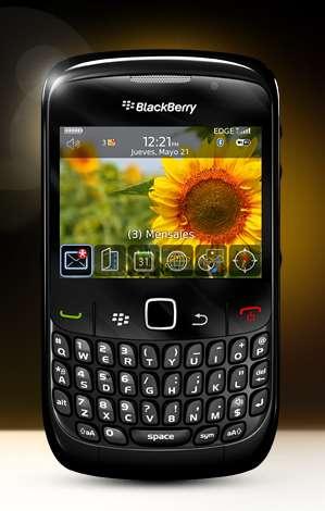 Blackberry 8520 telefono inteligente con dos años de uso vendo