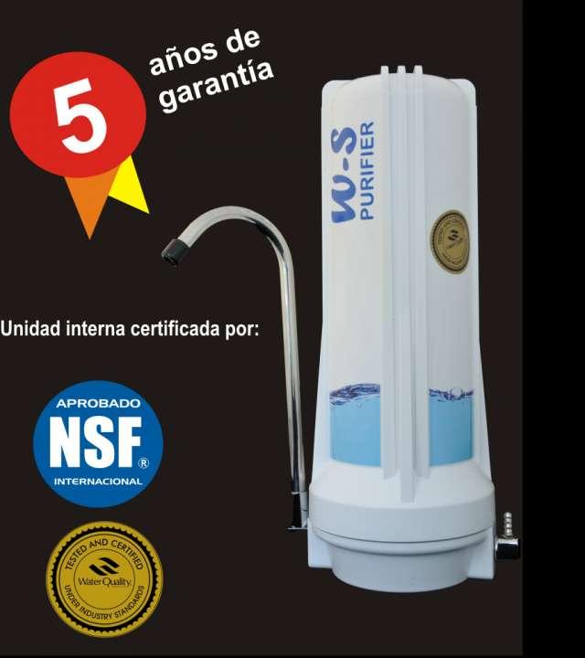 Filtro purificador de agua w-s. garantía 5 años. envío gratis a todo el pais.
