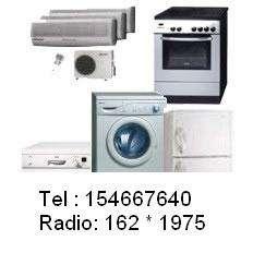 Reparo lavarropa heladera aire acondicionado microonda 154667640 radio 162*1975