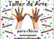 Art attack clases taller de arte niños liniers
