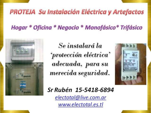 Electricidad domiciliaria instalaciones reparaciones