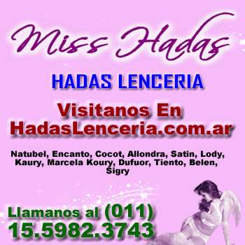 Marcas lenceria fina hadas lenceria - (011)-1559823743