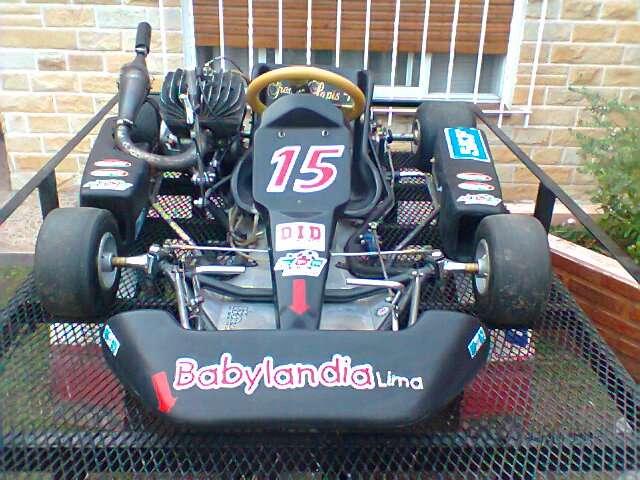 Venta de karting a motor zanella 200cc!!!