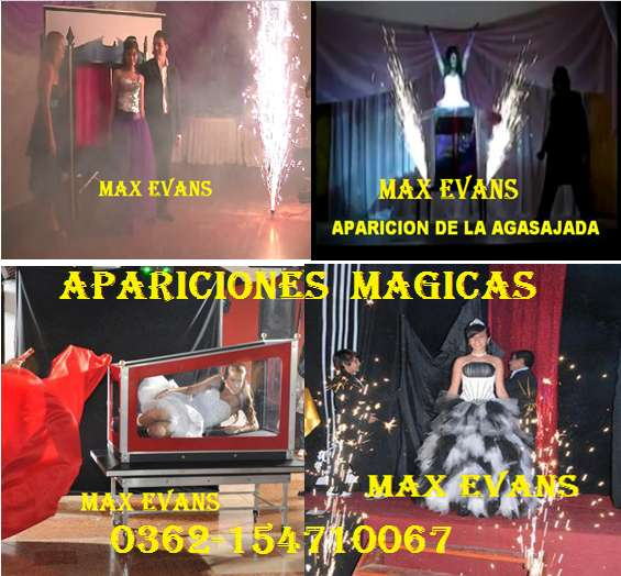 Mago max evans magia - ilucionismo en chaco