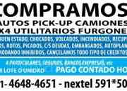 compro autos camionetas pick-up 4x4