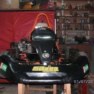 Karting vara corto con motor zanella 2 t excelente estado