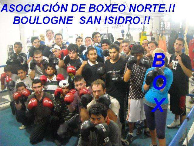 Asociación de boxeo norte gimnasio de la zona norte boulogne