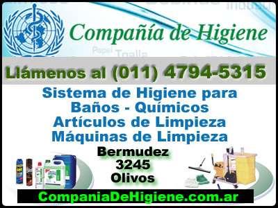 Aromatizadores de ambiente -compañía de higiene - (011) 4794-5315