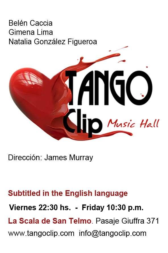 Tango clip, espectáculo favorito en buenos aires