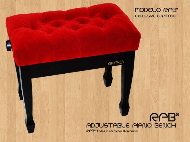 Banqueta para piano regulable rpb® adjustable piano bench