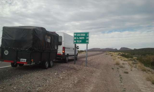 Mudanzas al interior $3.60 el km con vehiculos 0km