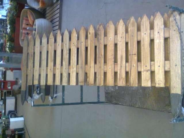 Cercos de madera fabrica en mar del plata