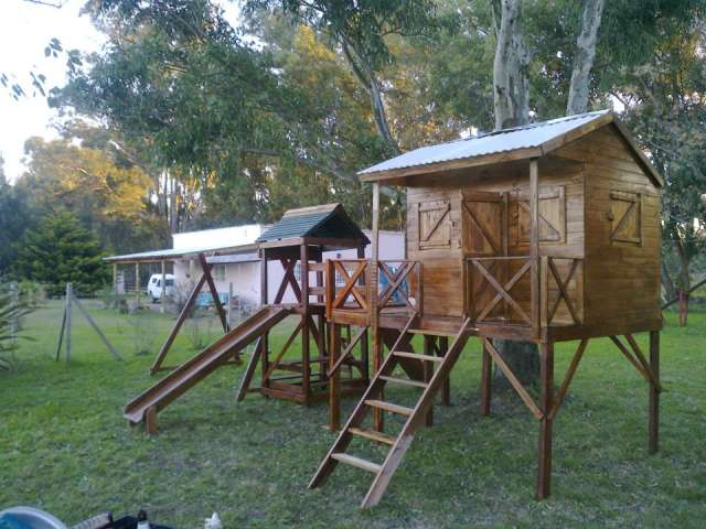 Mangruullos de madera. zona sur argentina
