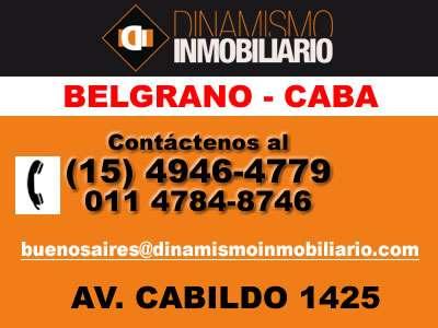 Oficina en alquiler en belgrano - arcos y mendoza (di) 15-4946-4779