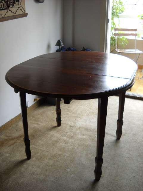 Vendo mesa redonda de comedor , con tabla extencible en Capital ...