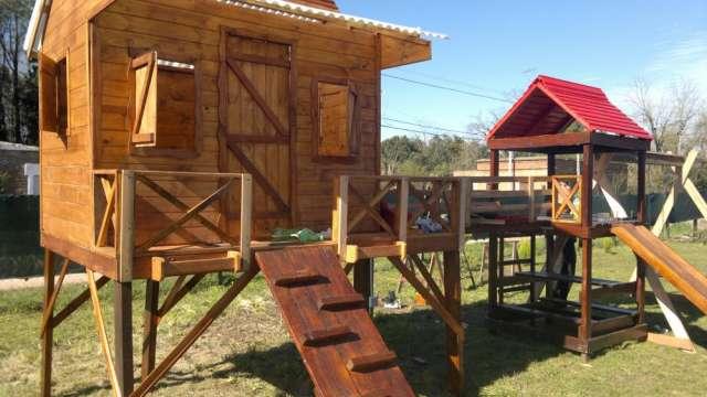 Fotos de Juegos de madera  y mangrullos para el jardin 5