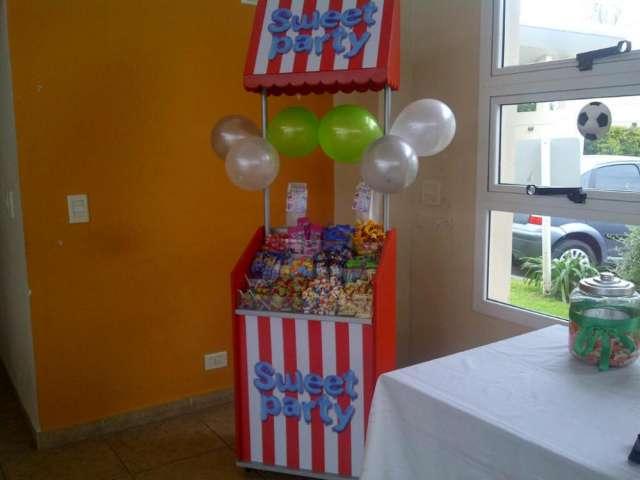 Kiosco de golosinas para eventos - sweet party-