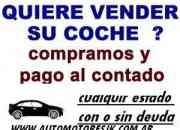 Compro autos usados de todas las marcas y modelos en cualquier estado. Incendiados, chocados, volcados, fundidos,con faltantes, Camiones, 4x4 pick up, Autos de plan.........  CON O SIN DEUDAS. INHIBID