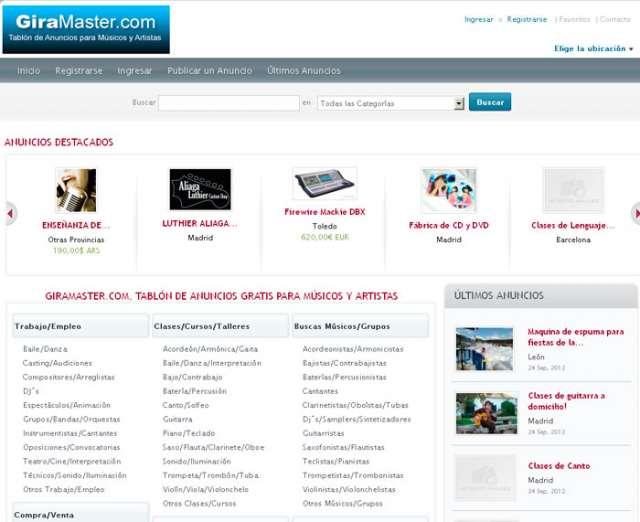 Fotos de Solo para músicos, giramaster.com, tu portal de música 1