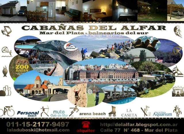 Cabaña mar del plata zona el faro arena beach alquiler temporada 2013