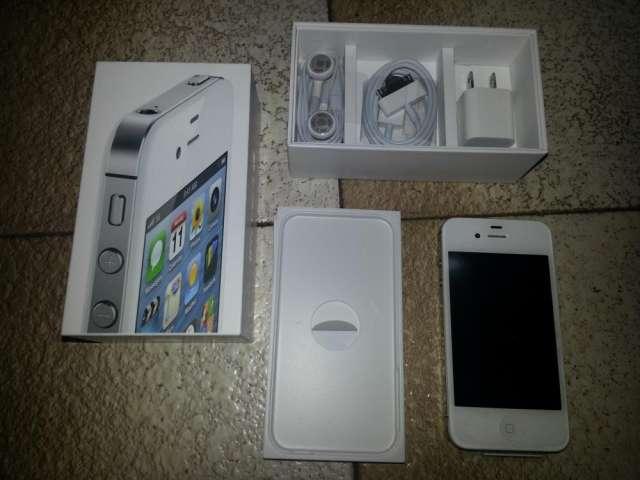 Vendo iphone 4s 16gb -nuevo-liberado - blanco - en caja-garantia