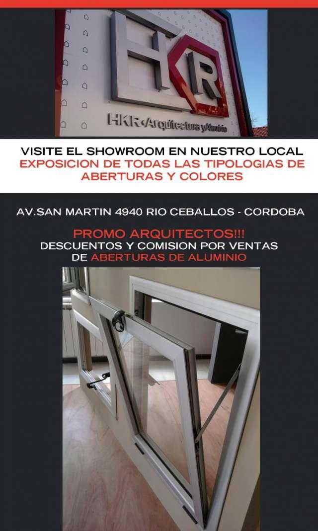 Hkr arquitectura y aluminio - visite showroom