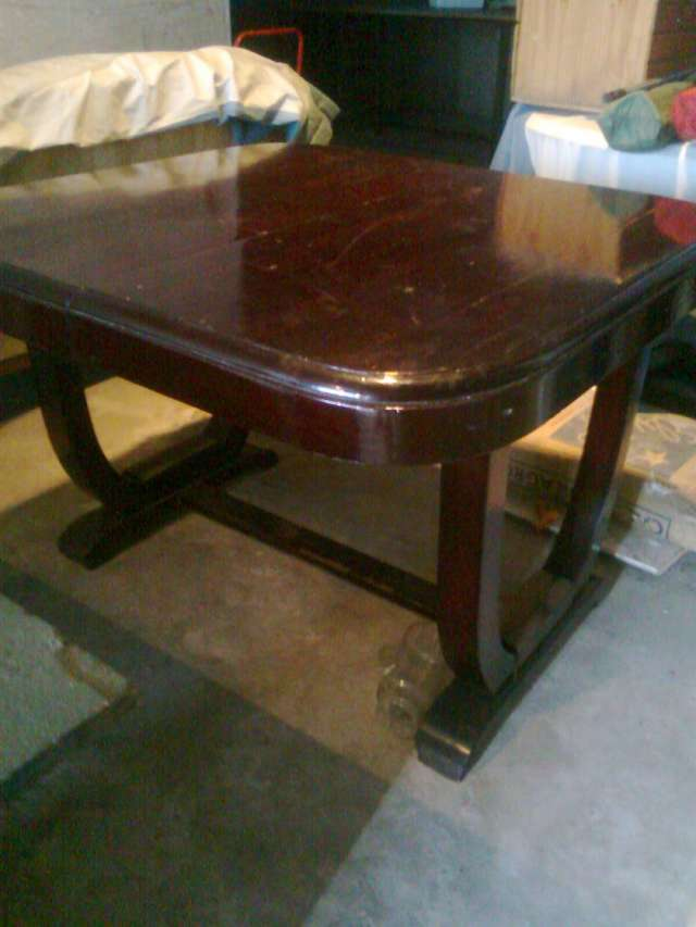 Vendo mesa cuadrada para 4 personas