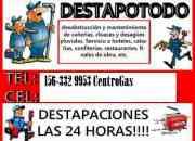 DESTAPACIONES DE CLOACAS CON MAQUINA 156-3329953 QUILMES