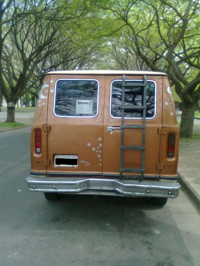 Ford econoline xlt 1982 - 2º dueño - original. made in usa