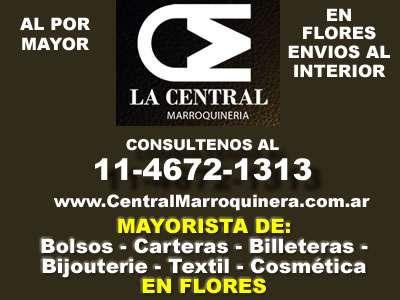 11c076306 Carteras y bolsos por mayor en flores - central marroquineria en ...