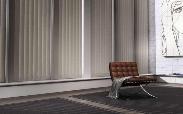 Bandas verticales.instalaciones.cortinas especiales.