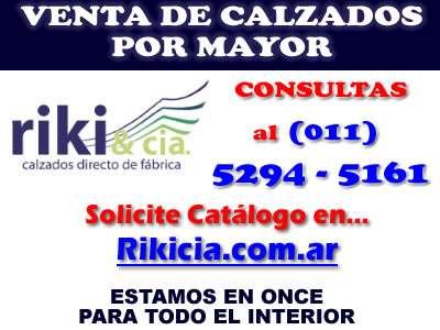 6f6a9a35f4b3 Calzados por mayor en once, balvanera - rikicia .com.ar 11-5294-5161 ...