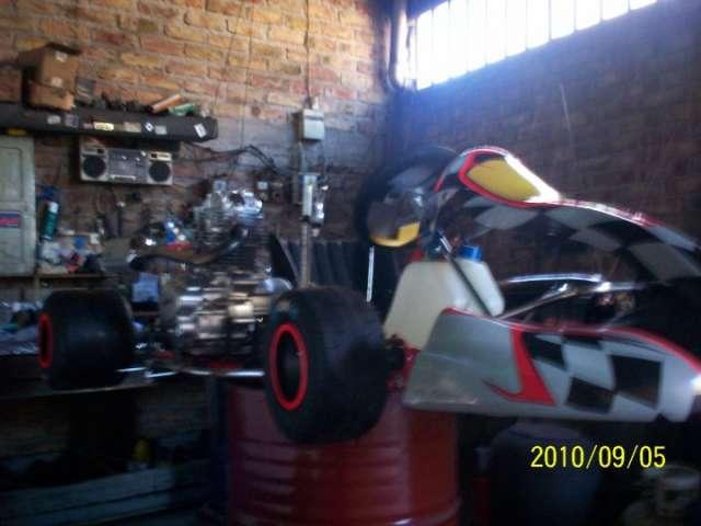 Vendo karting exelente estado!!!!! nuevo