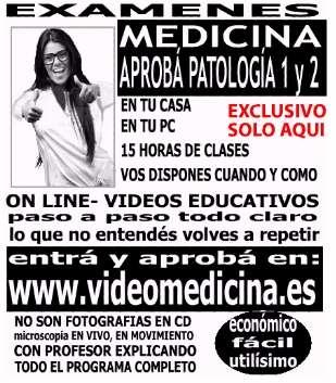Aprobá patología i y ii, videomedicina
