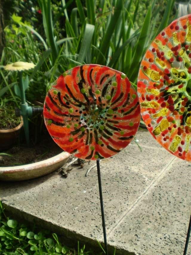 Tutores y accesorios en vidrio para jardín en Don Torcuato - Otros ...