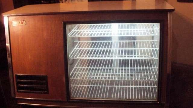 Vendo heladera-vitrina 2 puertas de acero inoxidable
