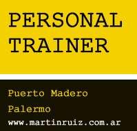 Personal trainer a domicilio en palermo y puerto madero