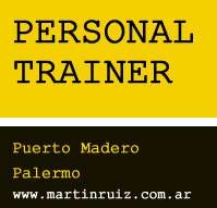 Personal training palermo capital federal