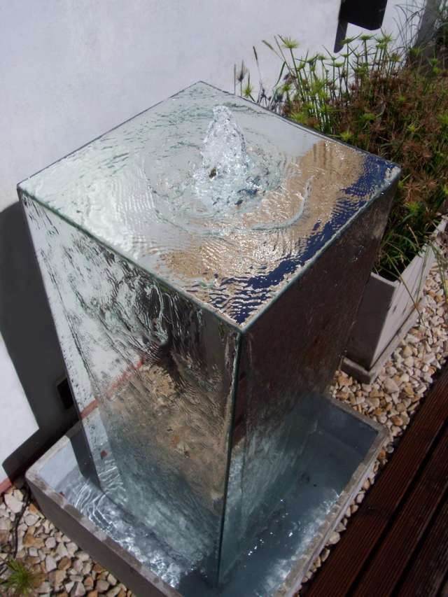 Fuente De Agua Espejo Aqua Sound Fuentes Con Diseno En Saenz Pena - Diseo-de-fuentes-de-agua