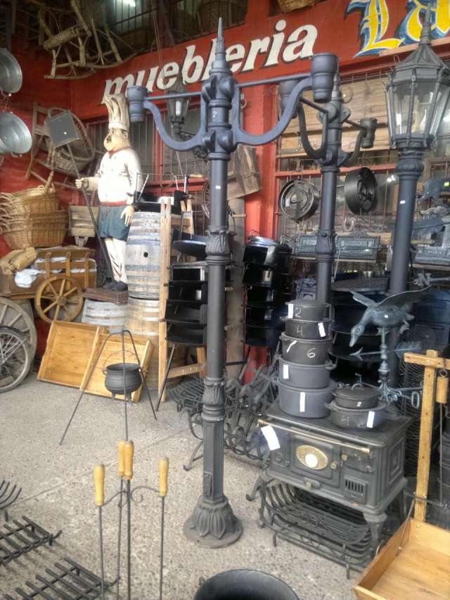 Farolas de fundición de hierro para exterior