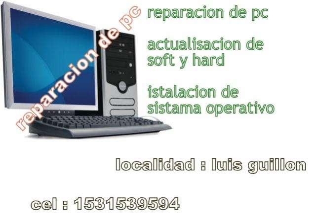 Reparacion de pc , actualisasiones , y istalaciones