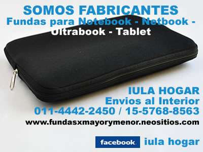 Fundas notebook netbook tablet - ideal revendedores